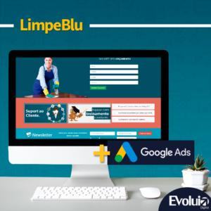 Criação do site Limpeblu Blumenau